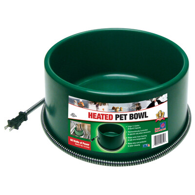 12042  Heated Pet Bowl