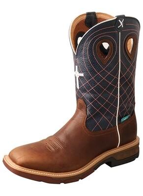 MXBAW01 Alloy Toe Western Work Boot CellStretch