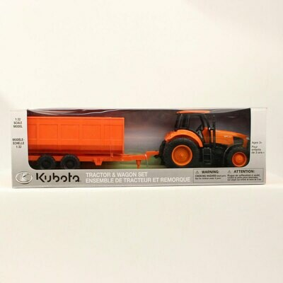 5100004 KubotaFarmTractor/Trailer