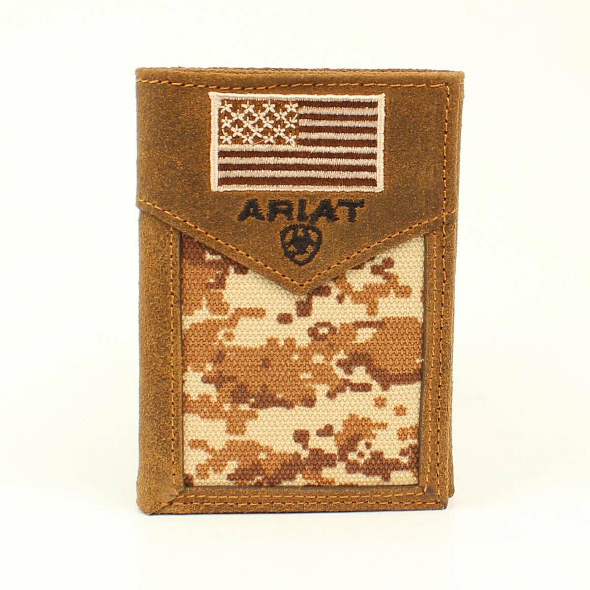A3536644 Ariat Tri-Fold Wallet