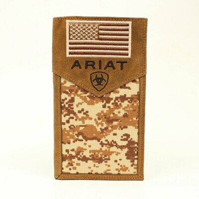 A3536444 Ariat Rodeo Wallet Checkbook Cover