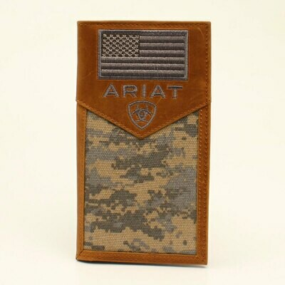 A3536428 Ariat Rodeo Wallet Checkbook Cover