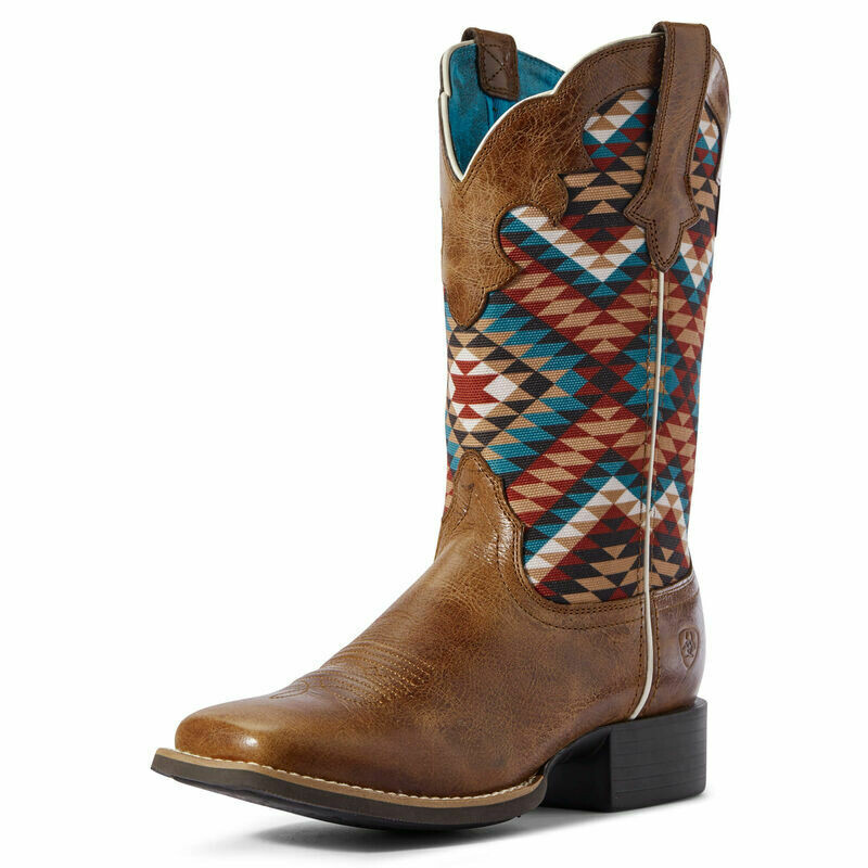 10031580 WMS ROUND UP WILLOW DRK TAN/MULTI AZTEC