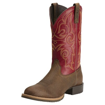 10014160 ARIAT WMS BROWN RED