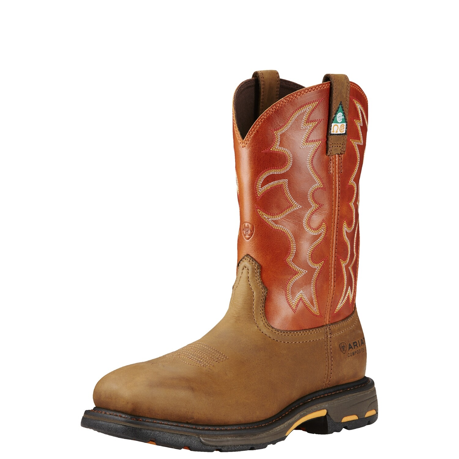 10017170 ARIAT WIDE SQ PUNCTURE RESISTANT COMP TOE