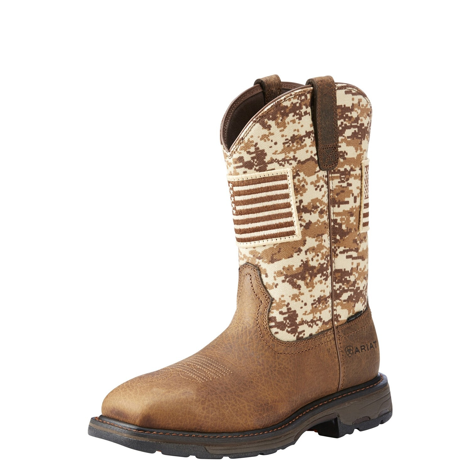 10022968 MNS WORKHOG PATRIOT ST EARTH SAND CAMO
