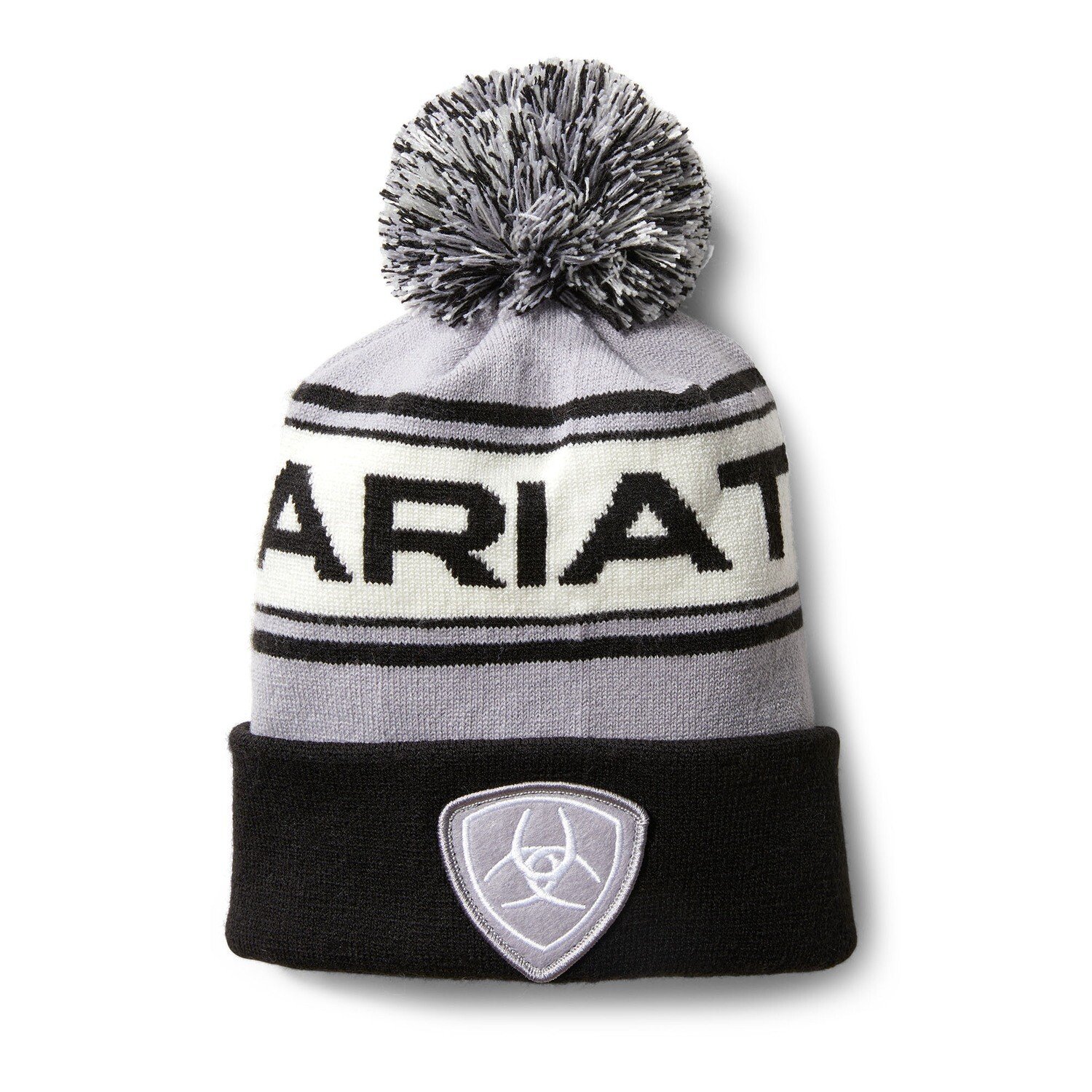 10033360 ARIAT TEAM BEANIE SLEET BLACK OSFA