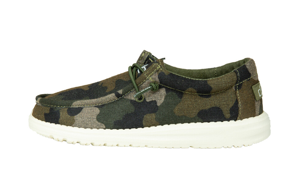 130157003 WALLY LINEN YOUTH CAMO