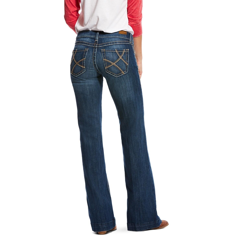 10026677 WMS Trouser Mid Rise Wide Leg