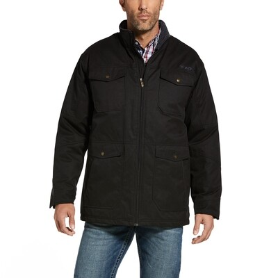 10032896 MNS GRIZZLY FIELD   JKT BLACK