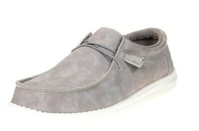 150203095 WALLY RECYCLED LEATHER GREY
