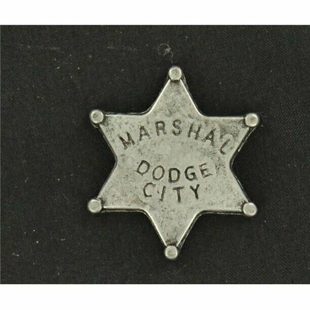 28228 Badge DodgeCity Marshall