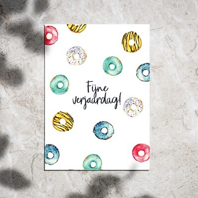 Postcard - Fijne Verjaardag