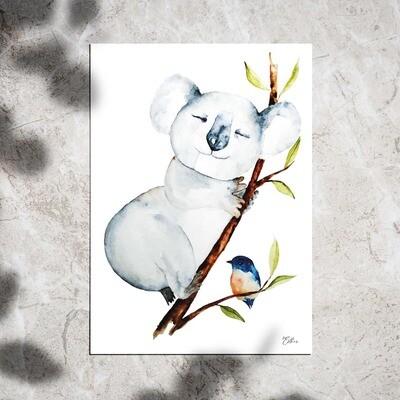 Art Print - Watercolor Koala