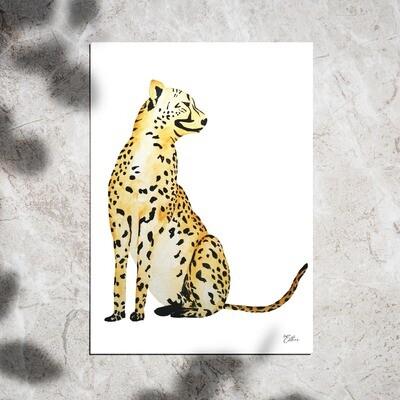 Art Print - Watercolor Panther
