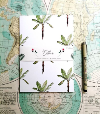 Recycled Notebook - Bananatree
