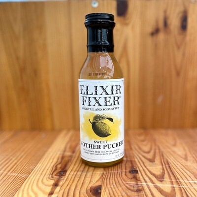 Elixir Fixer Sweet Mother Pucker Cocktail and Soda Syrup, 12 oz.