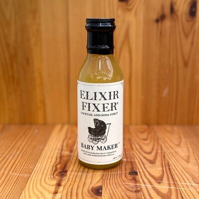 Elixir Fixer Baby Maker Cocktail and Soda Syrup, 12 oz.