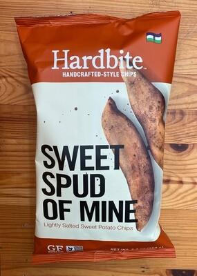Hardbite Sweet Potato Chips 5.29 oz. bag