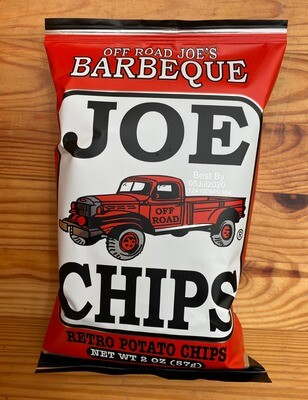 Joe Chips BBQ Potato Chips, 2 oz. bag
