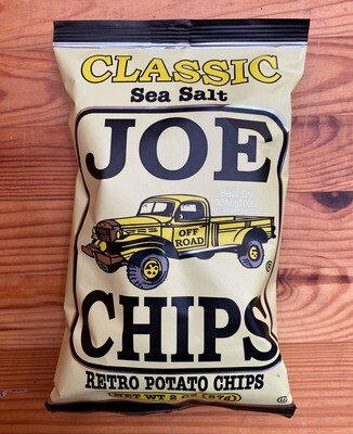 Joe Chips Classic Sea Salt Potato Chips, 2 oz. bag
