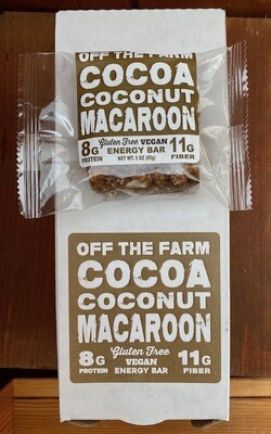 GOOD FOR YOU! Off the Farm Cocoa Coconut Macaroon Protein Bar, 2.5 oz.
