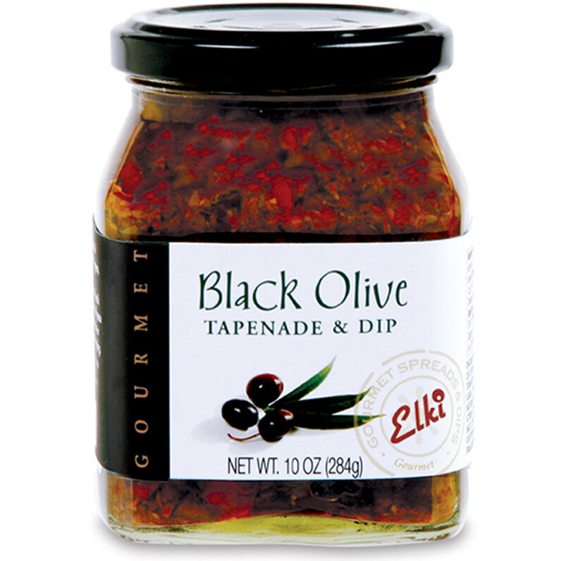Elki Black Olive Tapenade and Dip, 10 oz.