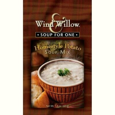 Soup - Wind & Willow Homestyle Potato Soup for One (mix), 1.5 oz.