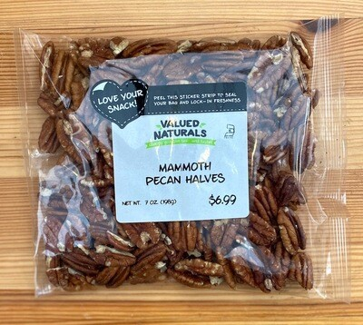 Mammoth Pecan Halves, 7 oz.