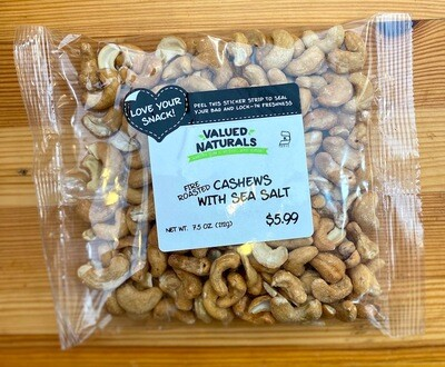Cashews with Sea Salt, 7.5 oz.
