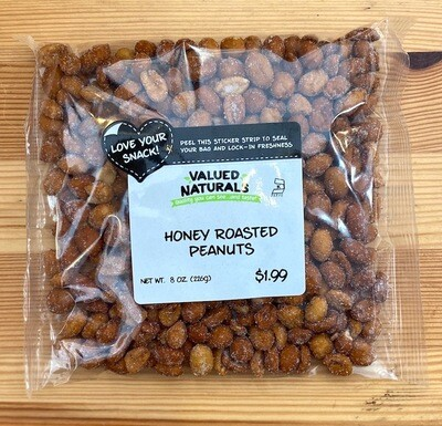 Honey Roasted Peanuts, 8 oz.