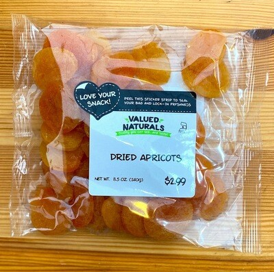 Dried Apricots, 8.5 oz.