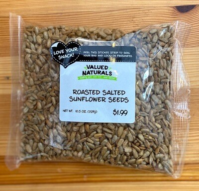 Roasted Salted Sunflower Seeds, 10.5 oz.