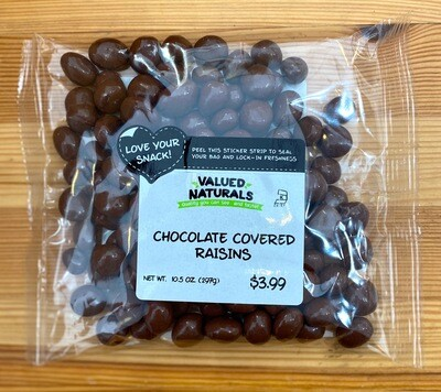 Chocolate Covered Raisins, 10.5 oz.