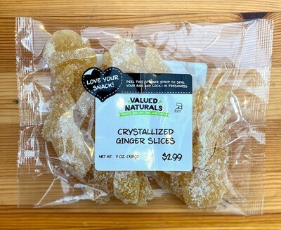 Crystallized Ginger Slices, 7 oz.