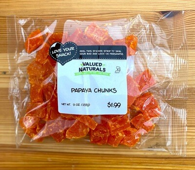 Papaya Chunks, 9 oz.