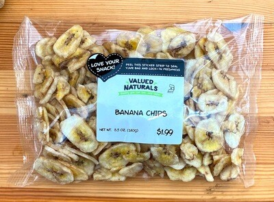 Banana Chips, 8.5 oz