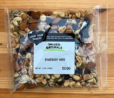 Fruit & Nut Energy Mix, 9 oz.