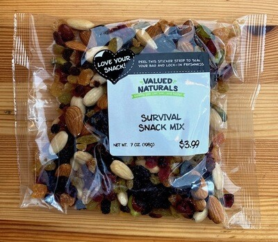 Fruit & Nut Survival Snack Mix 7 oz.