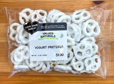 Yogurt Pretzels, 9 oz.