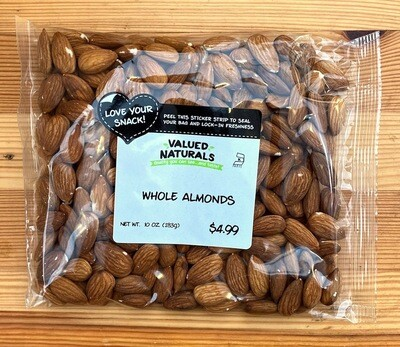 Whole Almonds, 10 oz
