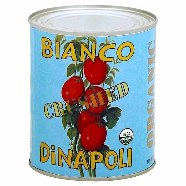 Sale! Bianco Dinapoli Crushed Tomatoes, ORGANIC 28 oz.