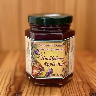 Newcastle Fruit & Produce Co. Huckleberry Apple Butter, 8 oz.
