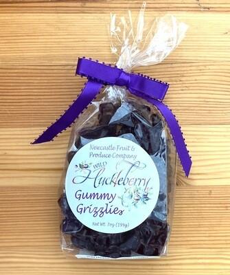 Newcastle Fruit & Produce Co. Wild Huckleberry  Gummy Grizzlies, 7 oz.