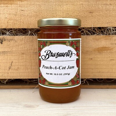 Braswell's of Georgia Peach-a-Cot Jam 10.5 oz.