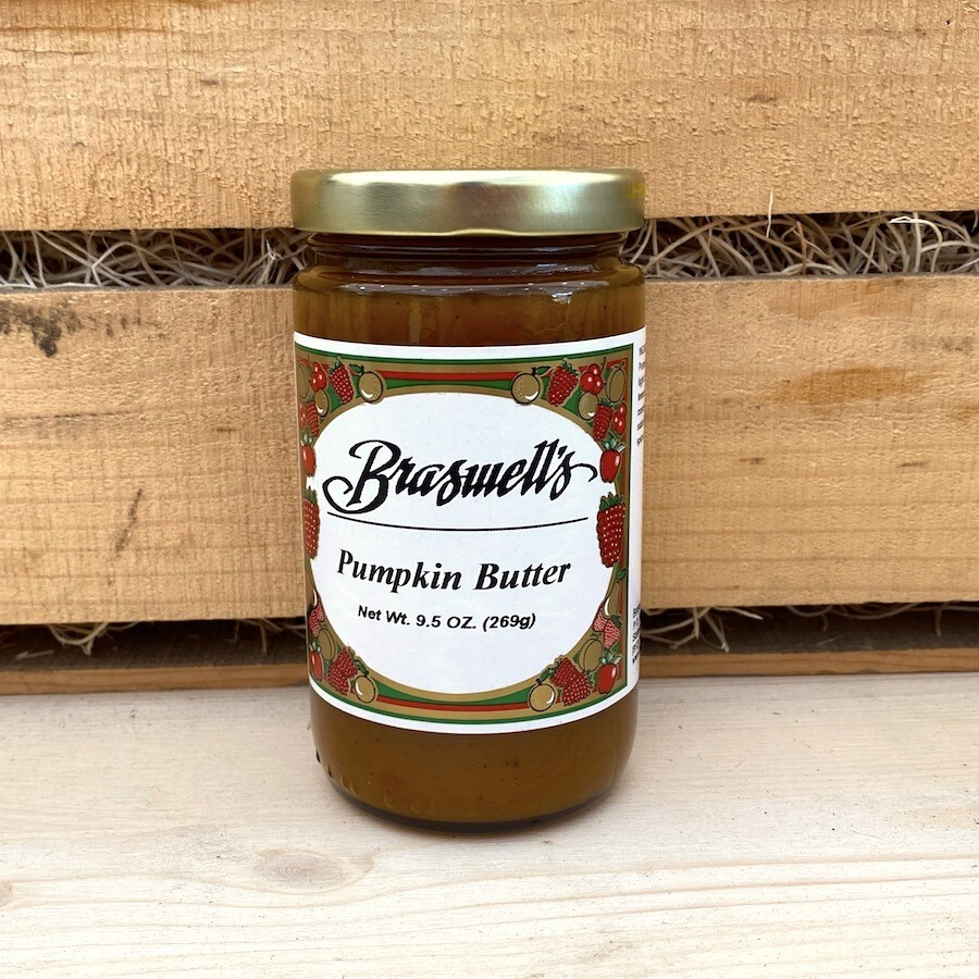 In Season! Braswell's of Georgia Pumpkin Butter 9.5 oz.