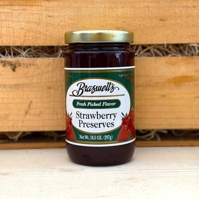 Braswell's of Georgia Strawberry Preserves 10.5 oz.