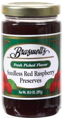Braswell's of Georgia Seedless Raspberry Preserves 10.5 oz.