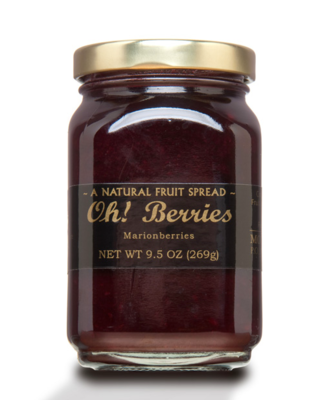 STAFF PICK! Mountain Fruit Co. Oh! Berries Marionberry Fruit Spread 9.5 oz.