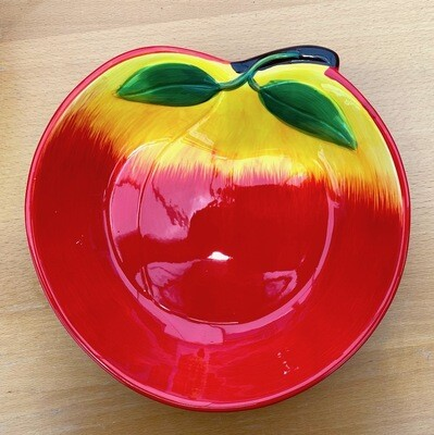 SALE! Peachy Keen Baking and Serving Dish One ceramic dish ($10.99 plus 10% tax)